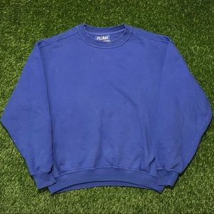 🇺🇸VTG Russell Athletic Pluma Blue Crewneck